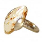 Sidabrinis žiedas su gintaru - Silberring mit natur Bernstein