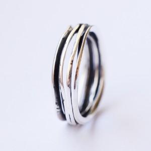 Sidabrinis žiedelis- Ring aus Silber