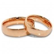 Raudono aukso vestuvių žiedai - Trauringe mit Rotgold