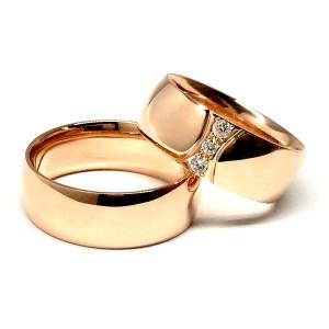 Vestuviniai žiedai su briliantais