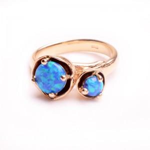 Žiedas su opalu - Ring mit Opalen